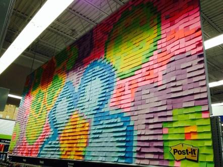 Post-It mural
