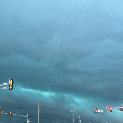 the summer storm that blew through Tulsa this week
