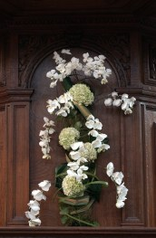 Phalaenopsis in a wall-decoration