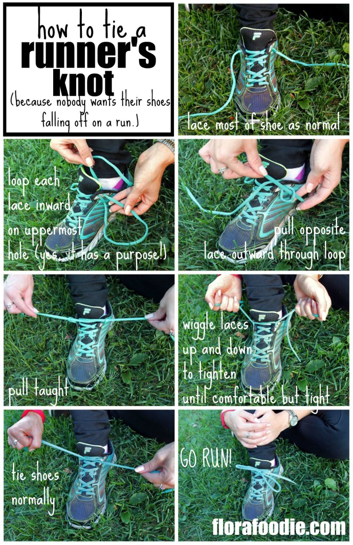 7c63087abaf3 Runner s Knot (Lace + Tie Your Shoes for Running) - Flora Foodie