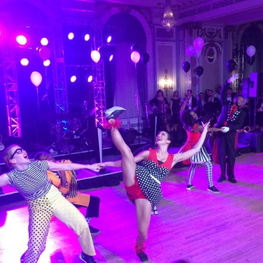 The company performing 'Mad Cap Junction'