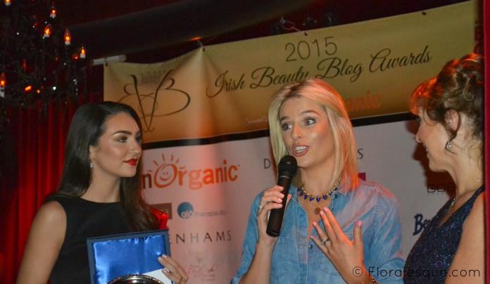 Pippa O'Connor Beauty Blog Awards