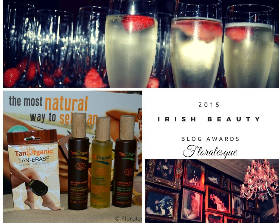 Blog Beauty Awards TanOrganic Event