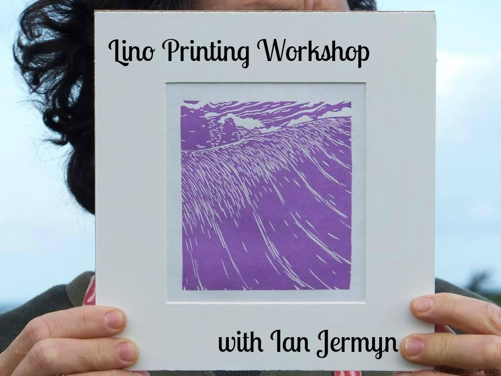Lino Printing Workshop with Ian Jermyn for Sligo Design Week 2015. ID2015