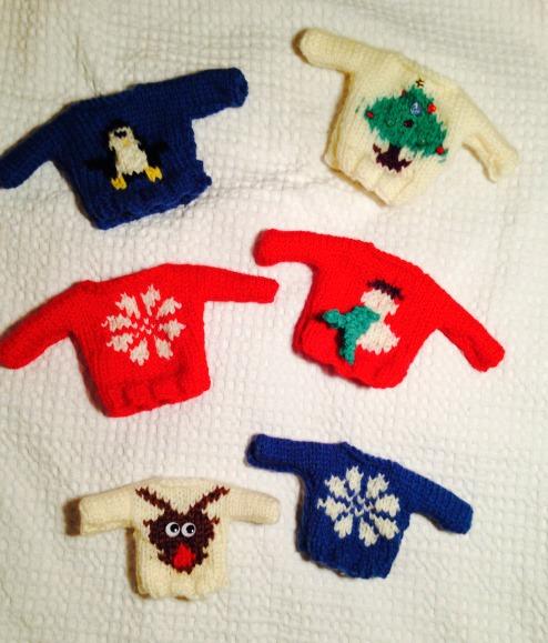 Geansi-beag na Nollaig Mini Christmas Jumper