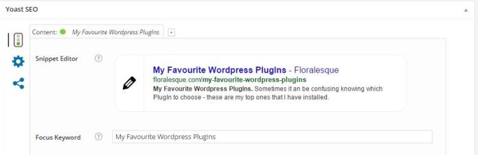 Floralesque Favourite WordPress Plugins