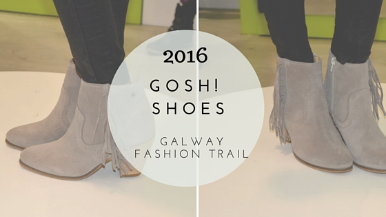 Galway Fashion Trail Floralesque Gosh! Shoes