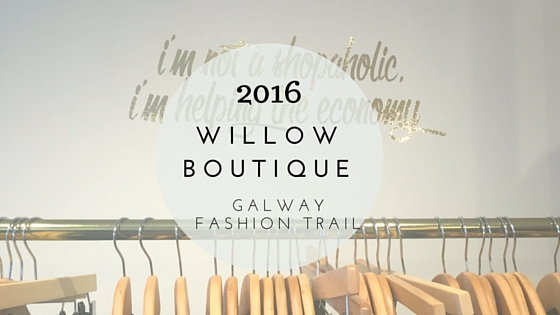 Galway Fashion Trail Floralesque Willow Runway Header