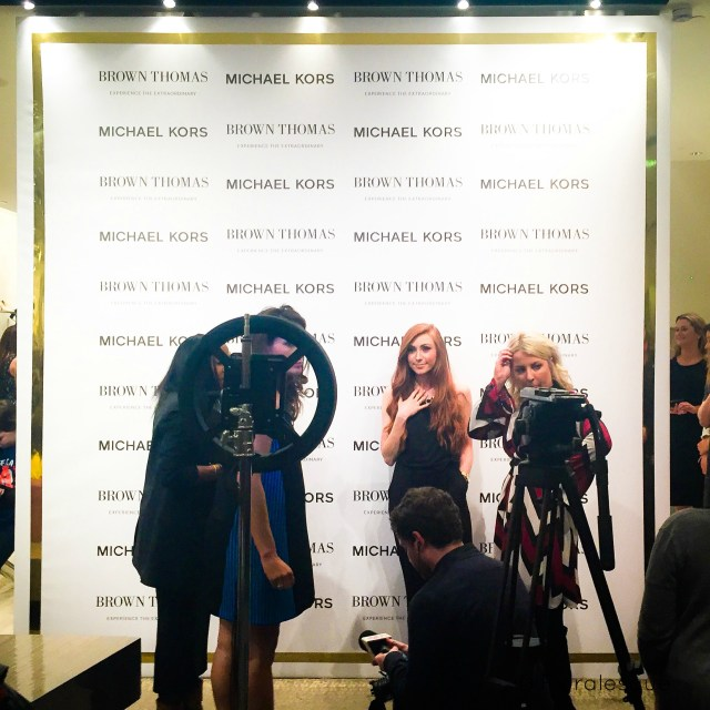 Michael Kors Jet Set 6 Collection Launch Brown Thomas Floralesque