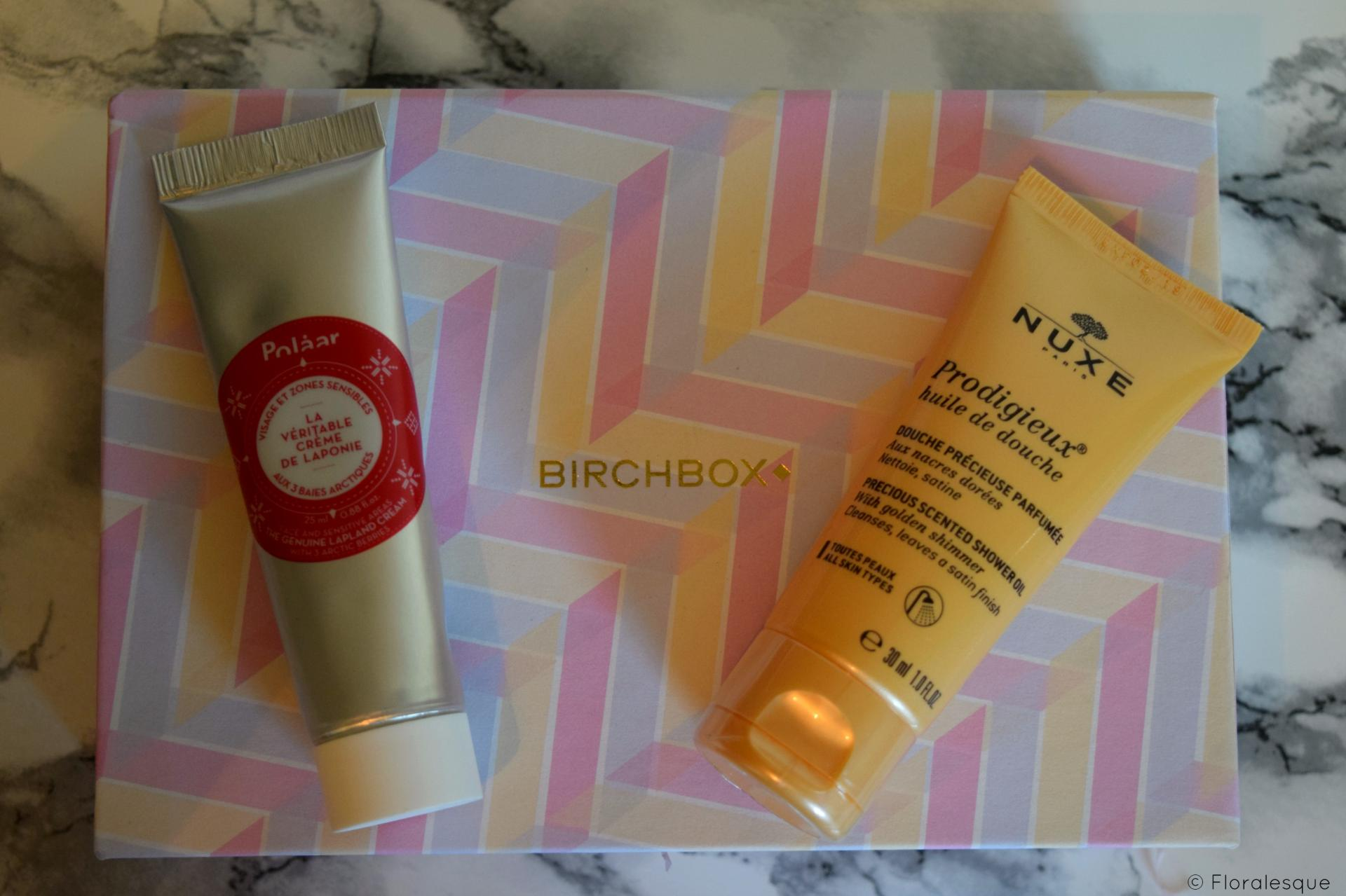 Birchbox Beauty Heros Review. September 2016. Floralesque