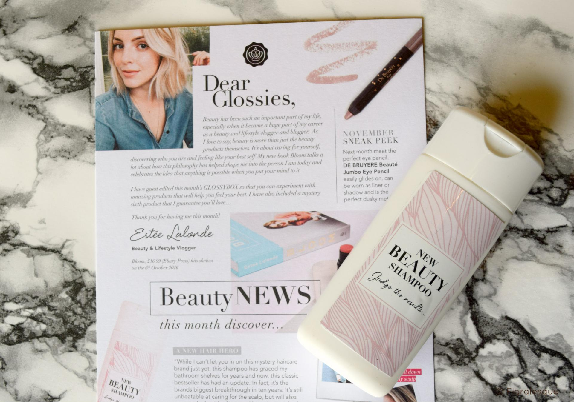 Glossybox Review. October 2016.