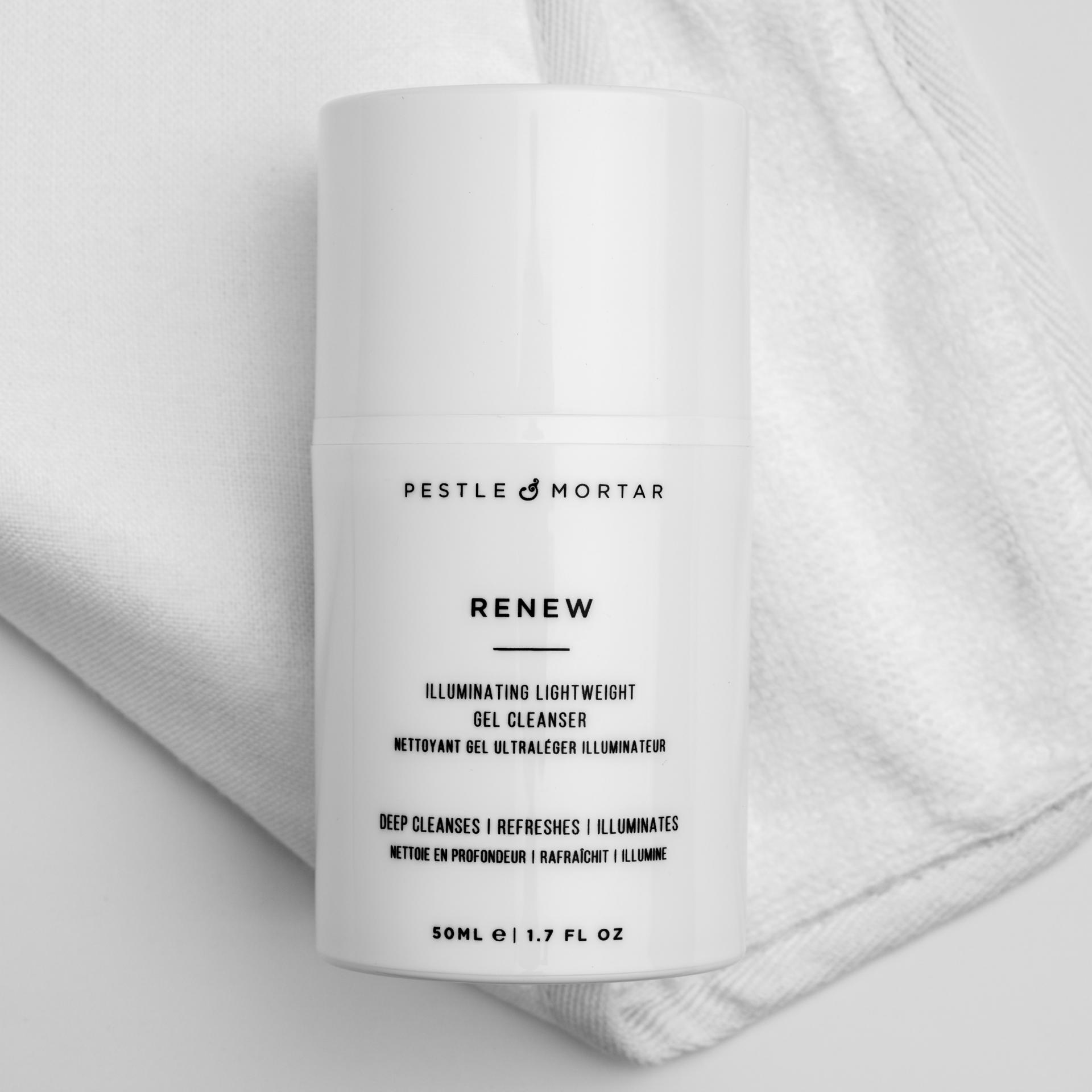 Pestle & Mortar Erase & Renew - Double Cleansing System