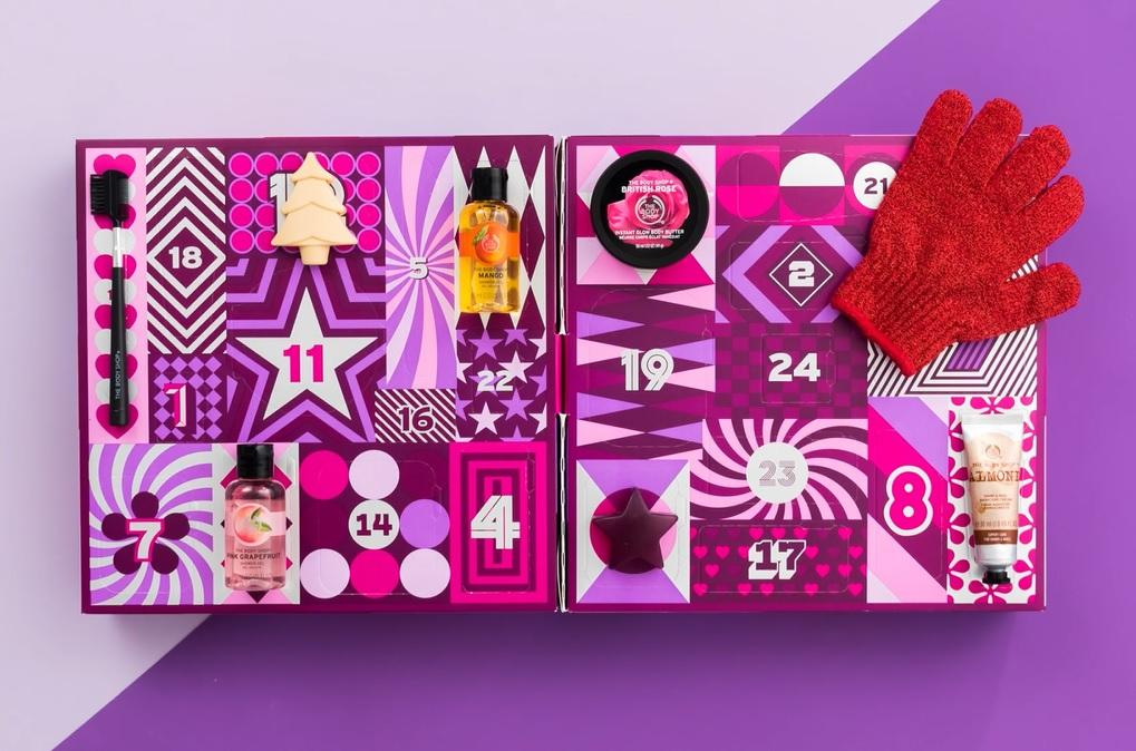 The Body Shop Count Down to New Years Calendar