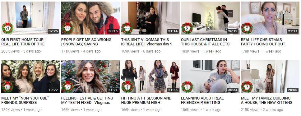 My Top 5 Vlogmas Picks 2017