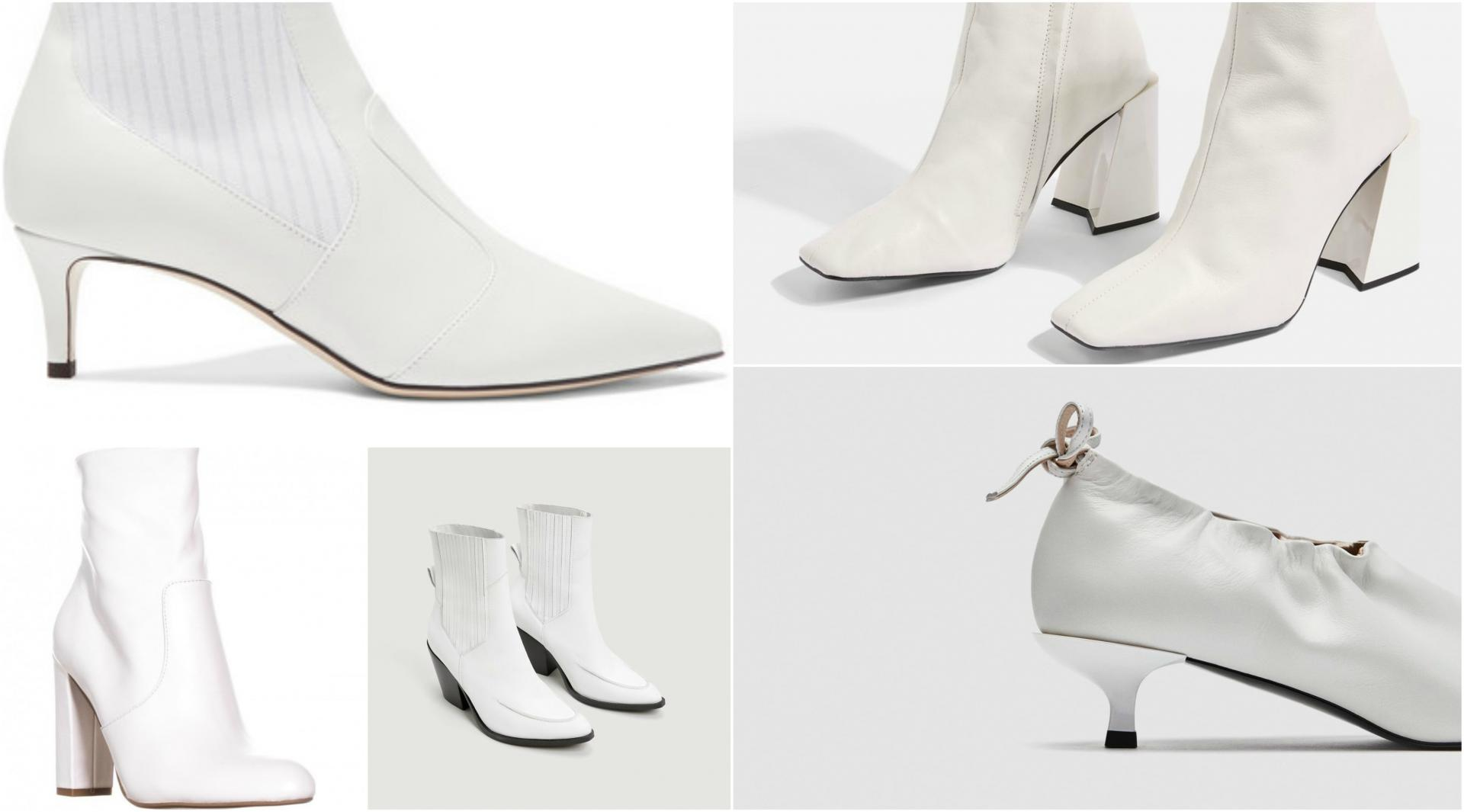Top Trend from Fashion Week White Boots