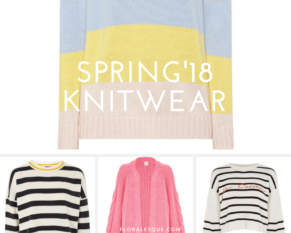 Cozy in Spring Knitwear