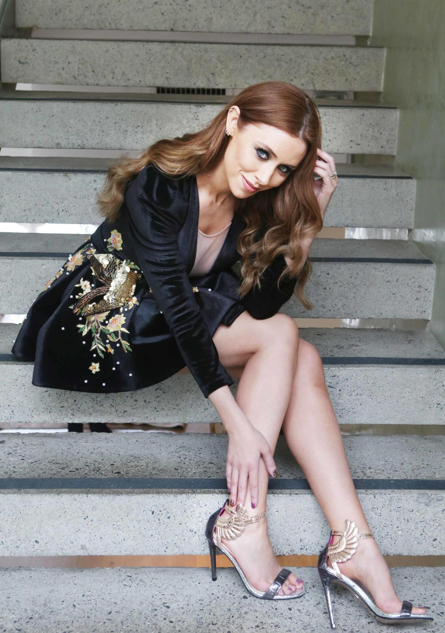 Una Healy launches debut shoe collection