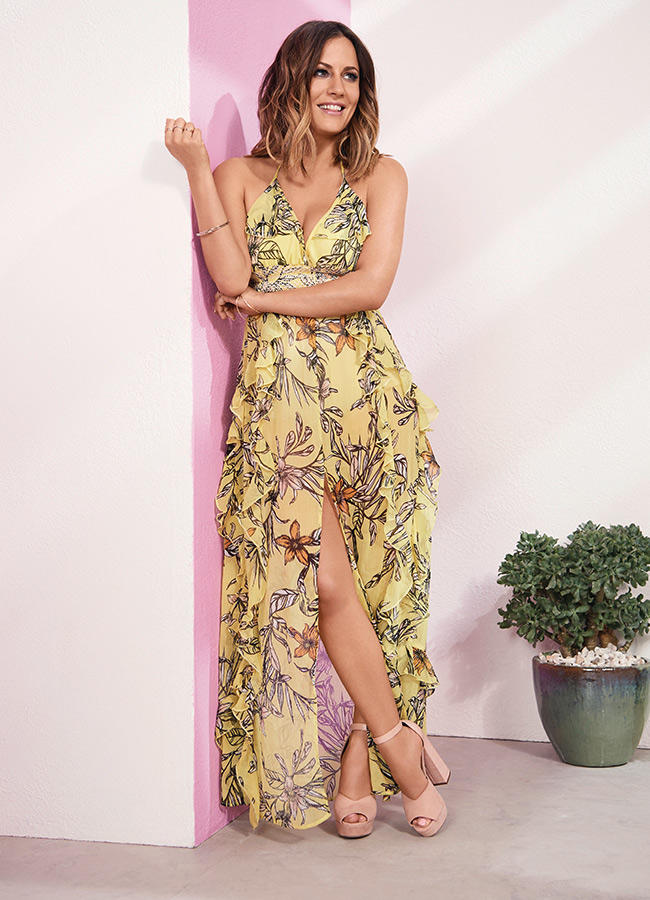 Caroline Flack's Debut River Island Collaboration
