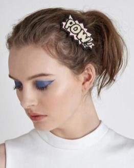 Back to the 90's with hair accessories