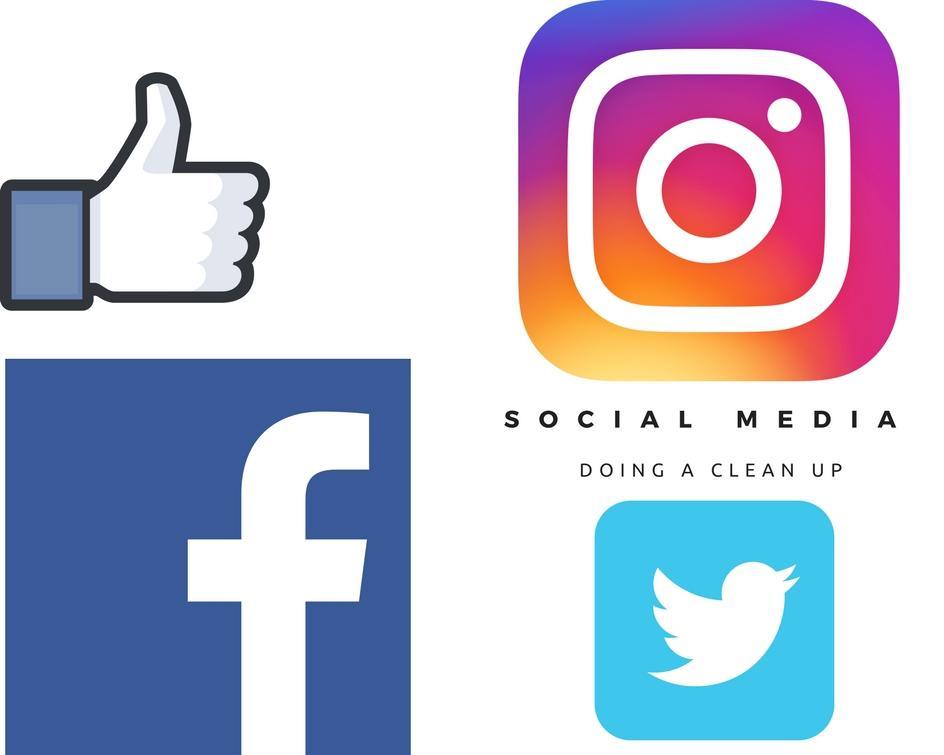 Doing a Social Media Clean Up Floralesque