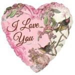 18 Inch Botanical Love Foil