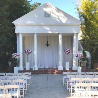 Grey Gables Wedding - 4 large altar arrangements