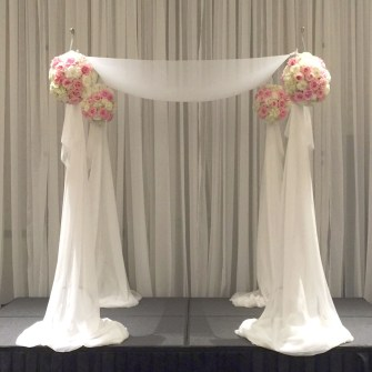 Close-Up of the Wedding Chuppah