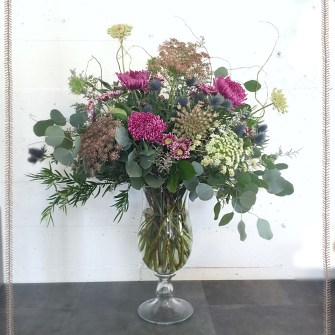 Lush & Organic Flowers for a Winery