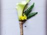 floral sunshine boutonniere 6