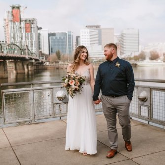 Elopement at Eastside Esplanade