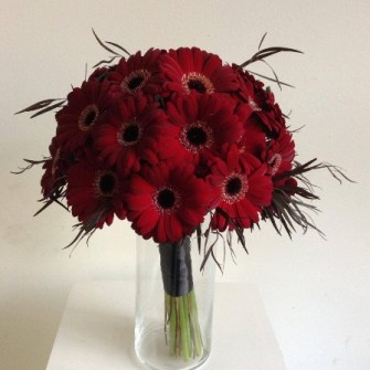 Wedding flowers portland oregon all gerbera daisies bridal bouquet mightylinksfo