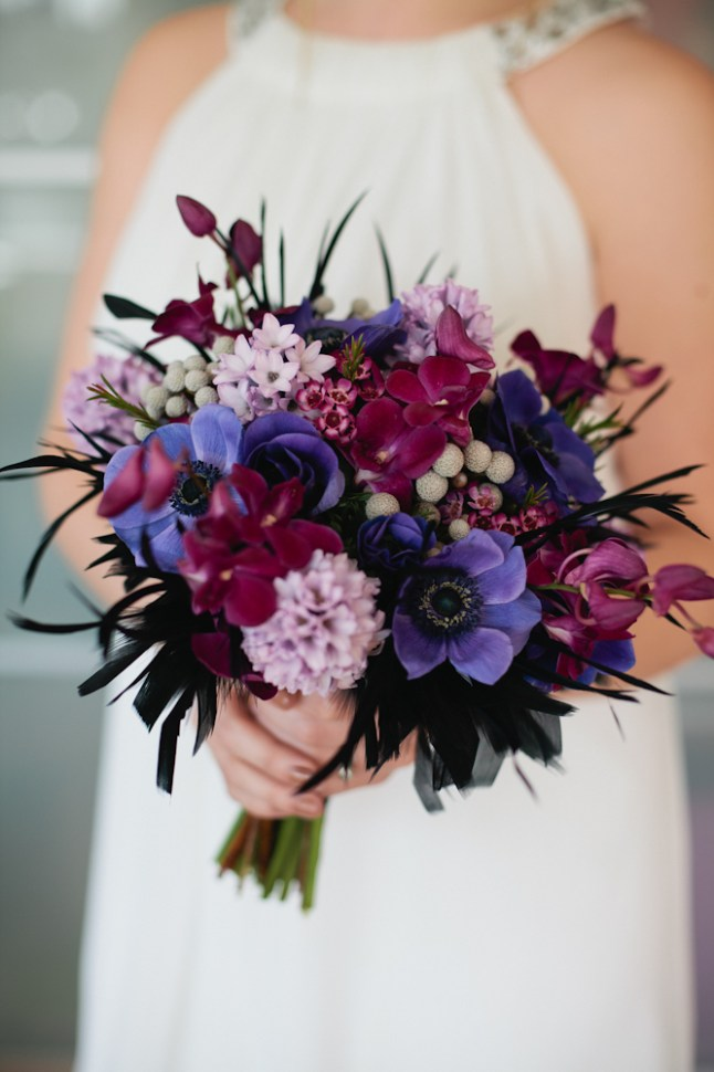4358287f7023 Bridal Bouquet Featured on Wedding Chicks! - Floral Sunshine