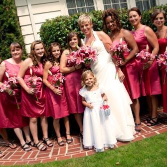 stargazer lilies wedding