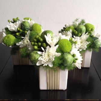Holiday Floral Presents - Small