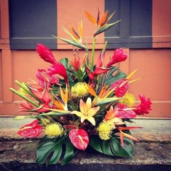 Extra large tropical arrangement