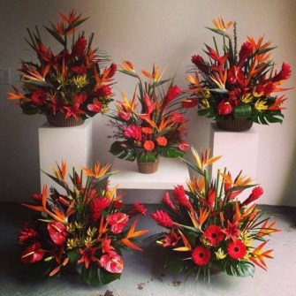 5 extra large tropical arrangements