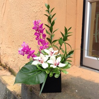 Mother's Day tropical arrangement