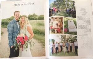 austin wedding day magazine fall winter edition featuring flor amor austin wedding florist