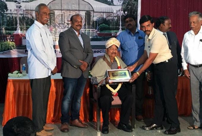 Indian Nurserymen Association Meeting in Bangalore