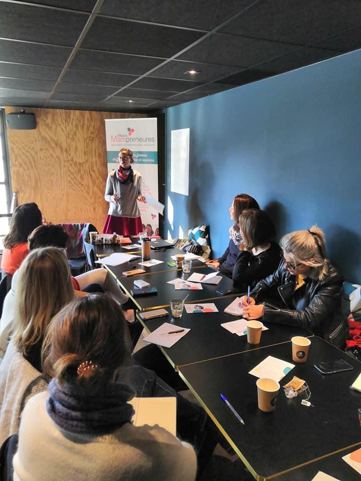 Rencontre des Mampreneures à Nantes novembre 2019