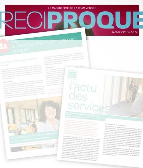 Articles magazine interne