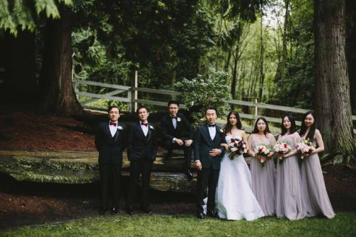 Flora Nova Design Seattle -Romantic DeLille Cellars Wedding. Winery Wedding with Burgundy and Cream Bridal Bouquet