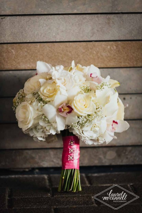 Flora Nova Design Seattle Luxury White Wedding Sodo Park Bridal Bouquet
