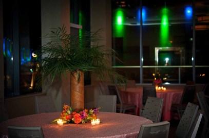 Flora Nova Design Seattle Tropicana Theme Holiday Party