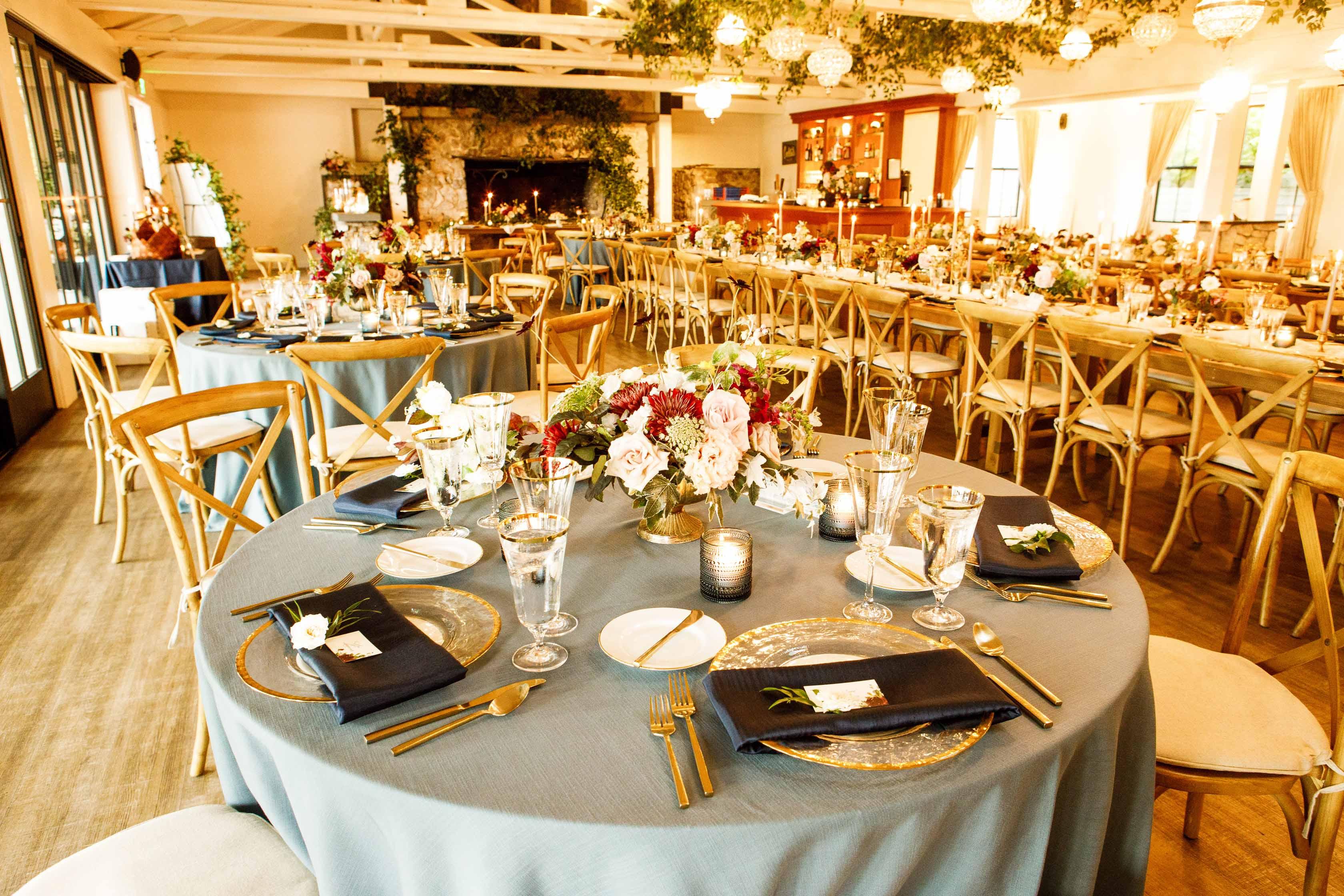 Wedding reception at Roche Harbor Resort
