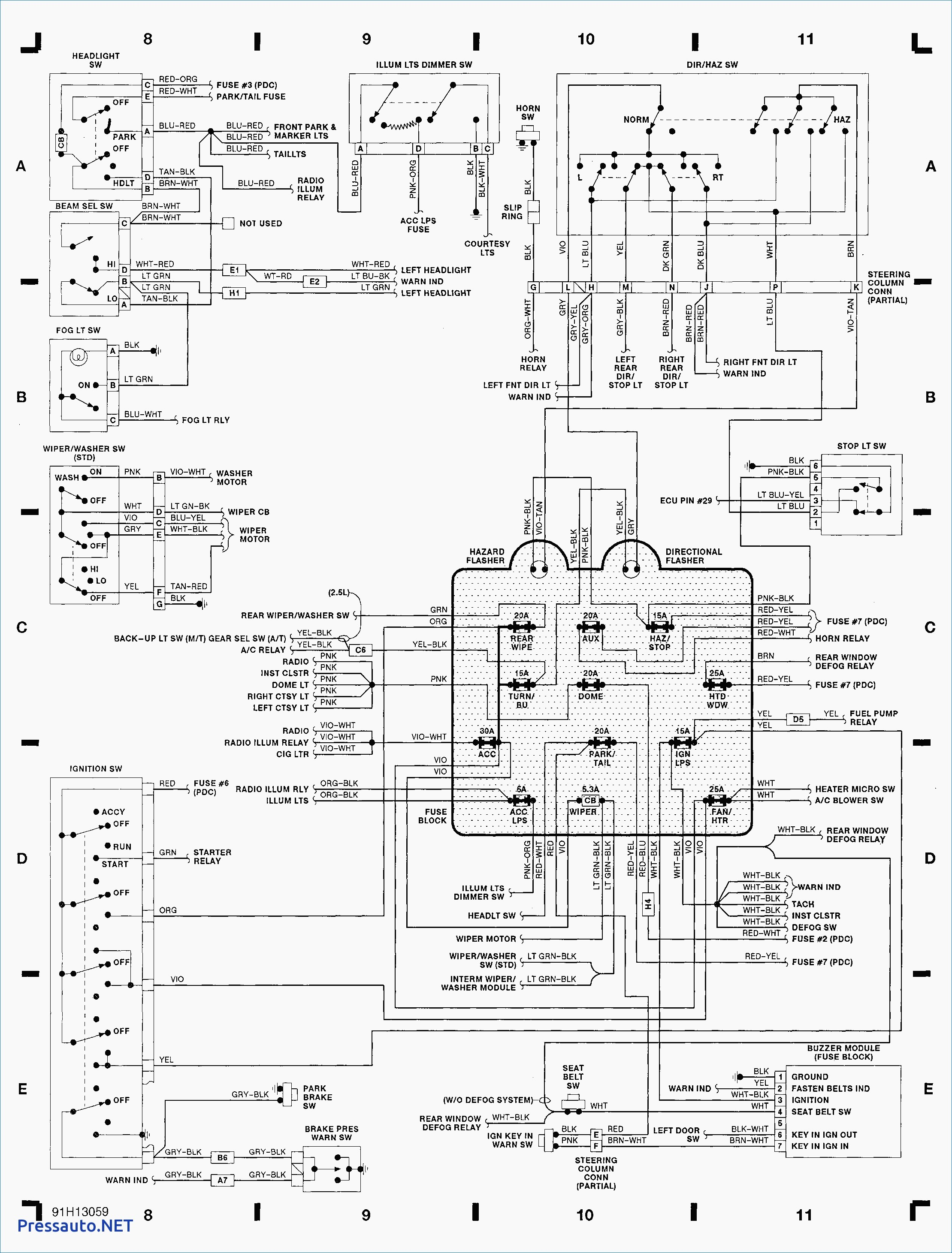 Honda Ridgeline Tail Light Wiring Diagram Schematic