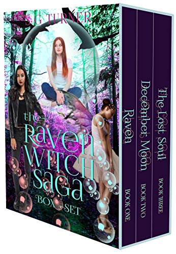 book cover for The Raven Witch Saga Box Set - Raven, December Moon and The Lost Soul by Suzy Turner - new cover