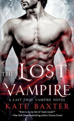 book cover for The Lost Vampire (Last True Vampire #5) by Kate Baxter