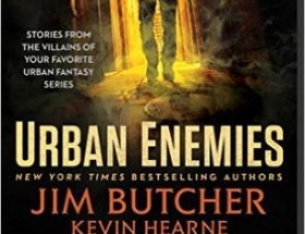 book cover for Urban Enemies -an anthology by various Authors