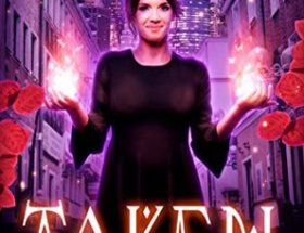 book cover for Rune Witch Mysteries book 1 - Taken by Victoria DeLuis